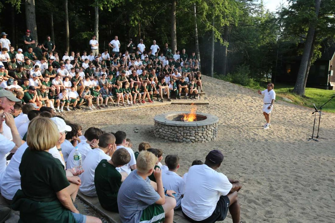 Opening Camp Fire